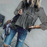 Blusa Hollow Out Bohemian. 5 colores