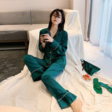 Pijama Silk Satin European Luxury. 6 colores