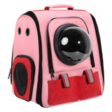 Backpack Space Capsule con Respiradero para Perros y Gatos. 3 colores