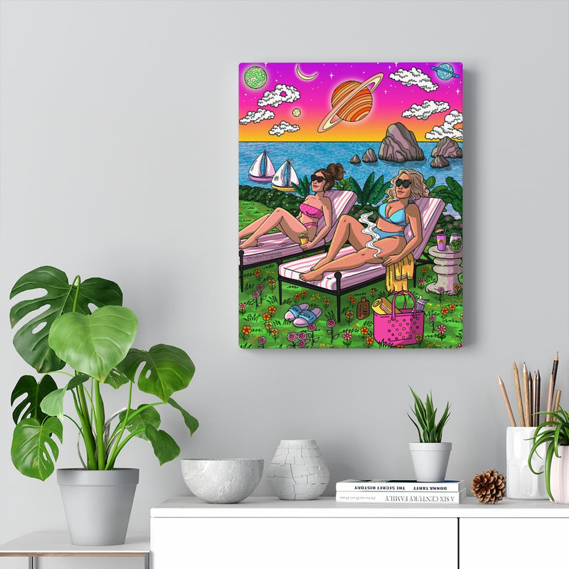 """Sunkissed"" Canvas Print"