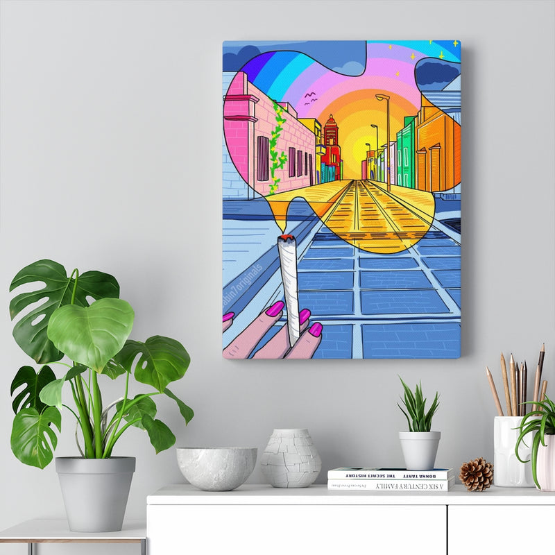 """Medicated Perspective - OG"" Canvas Print"
