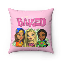 Baked Babes Square Pillow