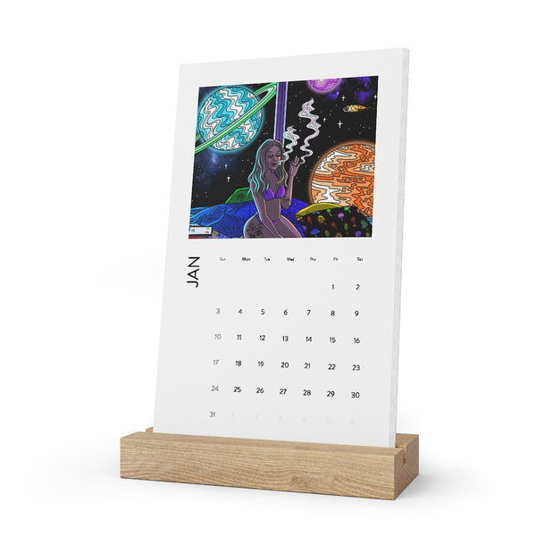 Vertical Desk Calendar (2021)
