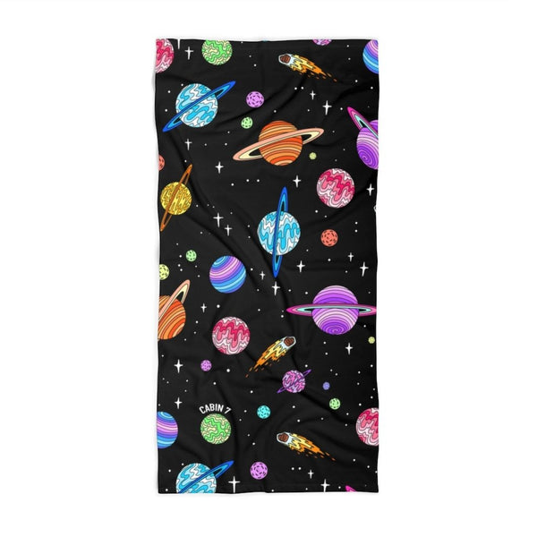 Starry Sky Beach Towel