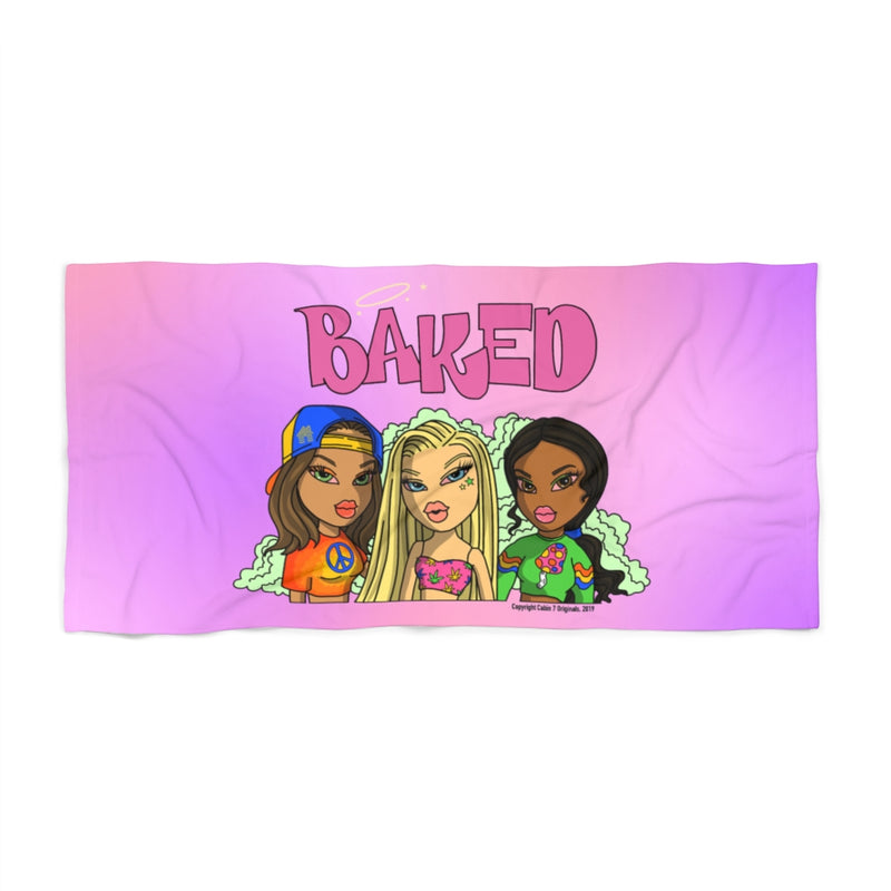 Baked Babes Beach Towel