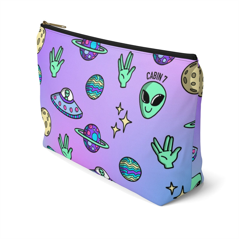 Aliens Zipper Pouch
