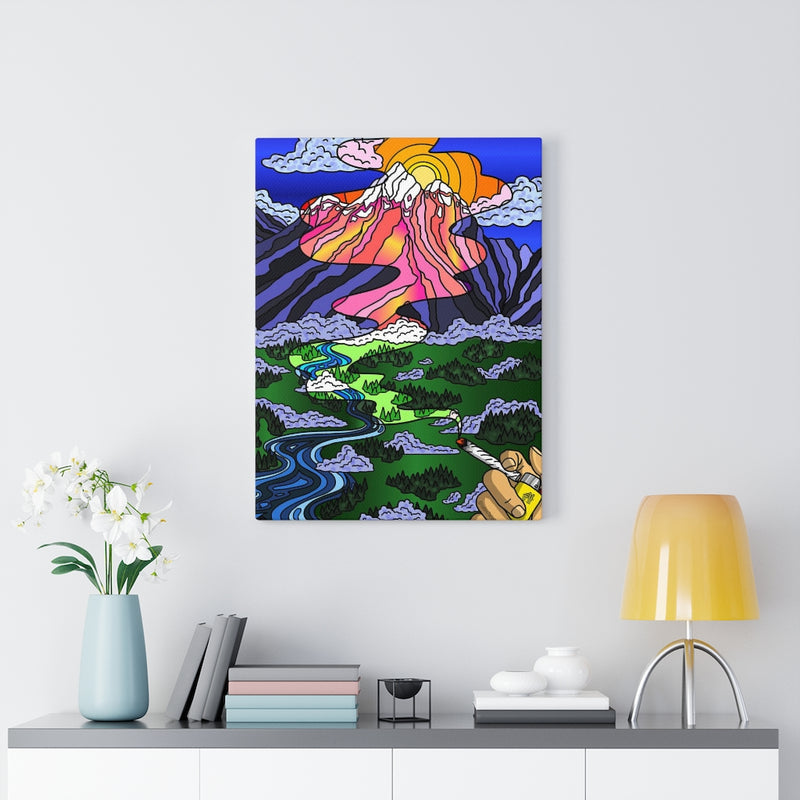 """Medicated Perspective"" Canvas Print"