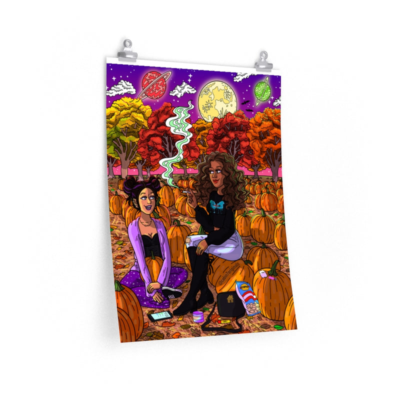 """Pumpkin Patch"" Poster Print"
