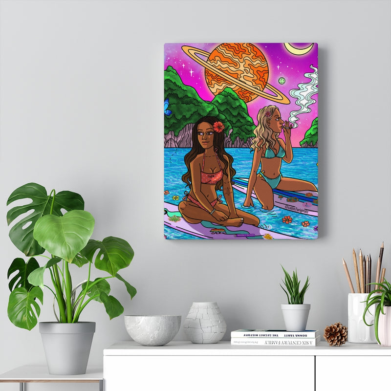 """South Pacific"" Canvas Print"