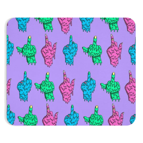 Middle Fingers Mousepad