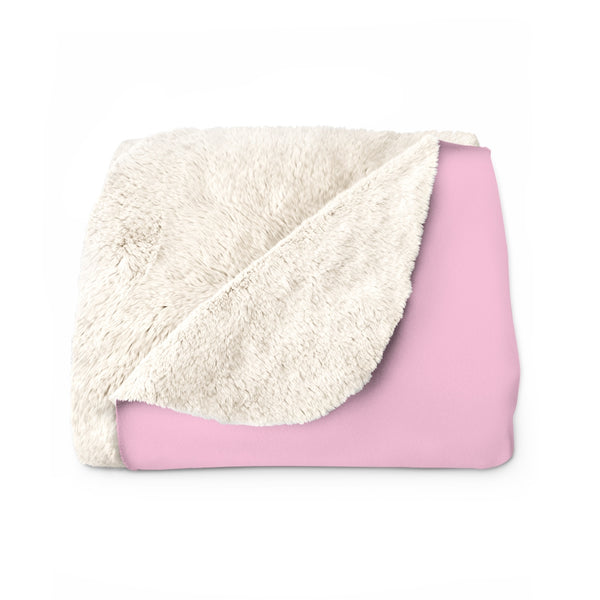 """Baked Babes"" Sherpa Fleece Blanket"