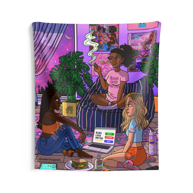 """Solidarity"" Wall Tapestry"
