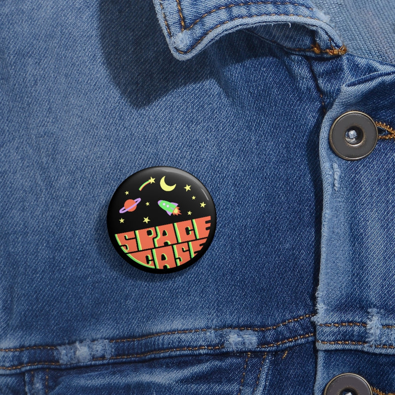 Space Case Pin