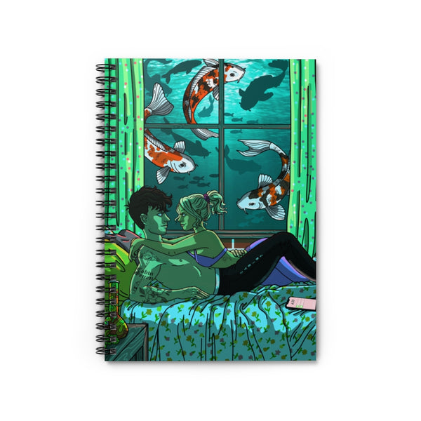 Submerged Spiral Notebook