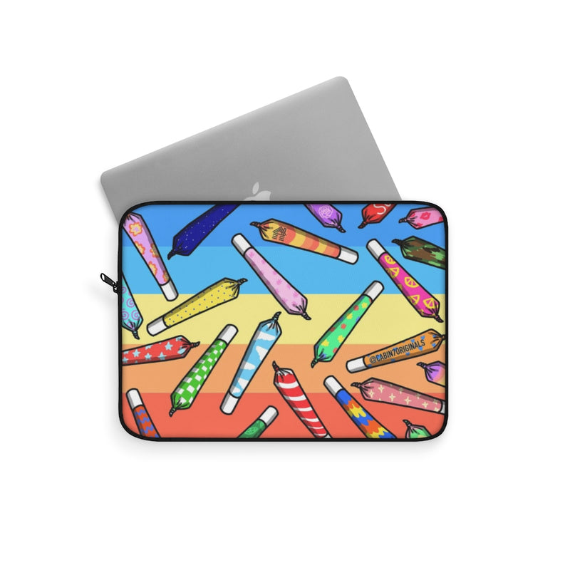 Rainbow Joints Laptop Sleeve