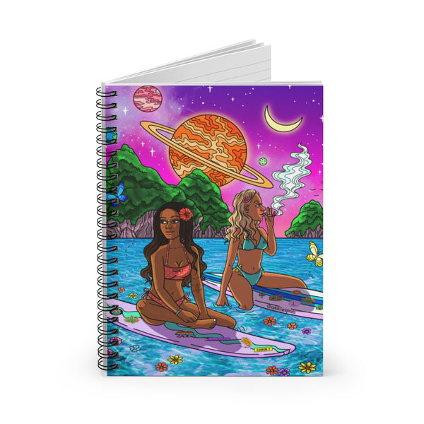 South Pacific Spiral Notebook