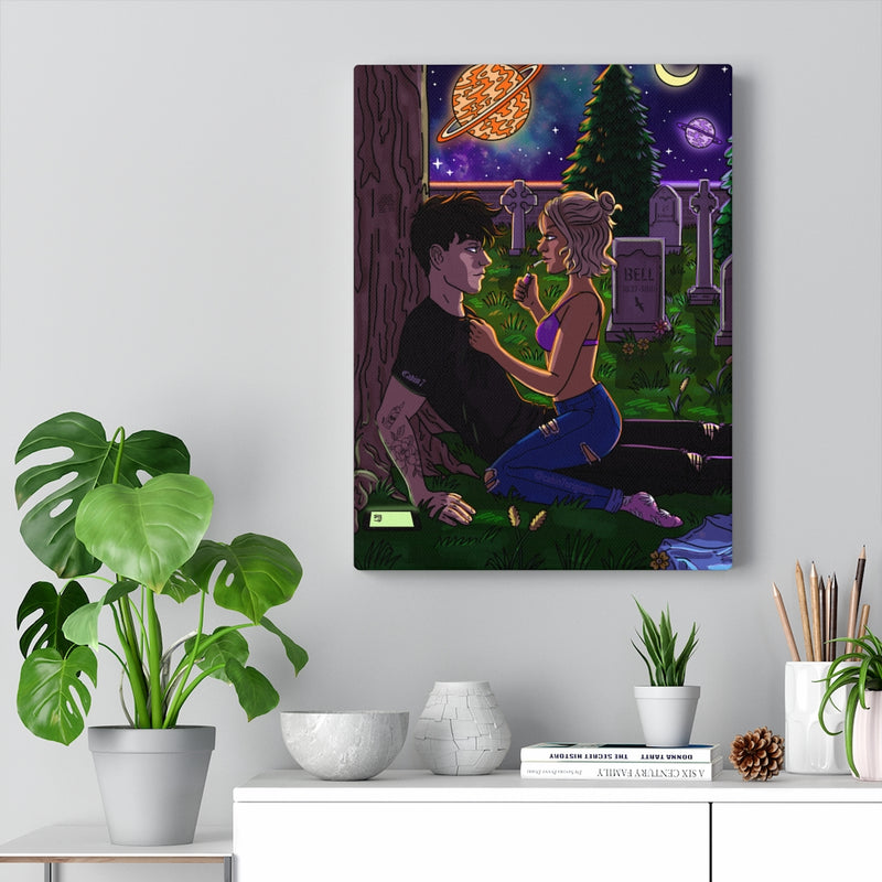 """Graveyard Shift"" Canvas Print"