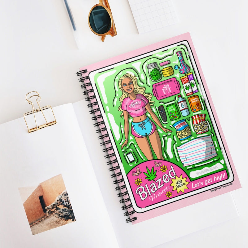 Blazed Princess (OG Blonde) Spiral Notebook