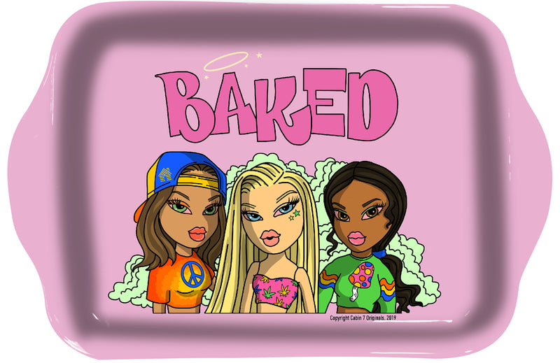 Baked Babes Rolling Tray