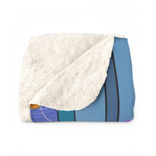 """Self Care"" Sherpa Fleece Blanket"