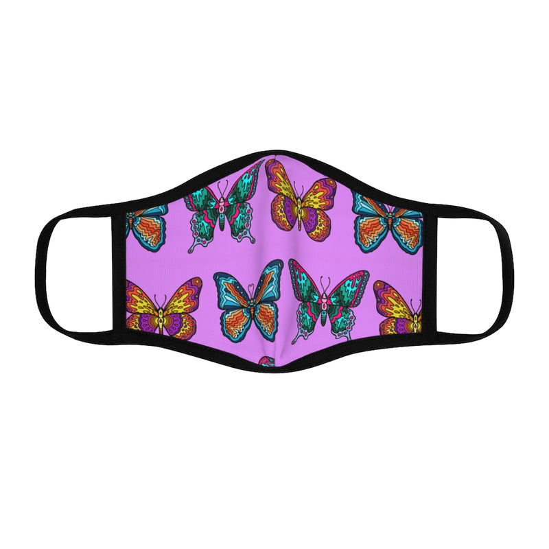 Mosaic Butterflies Face Mask