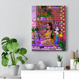 """Happy Place"" Canvas Print"