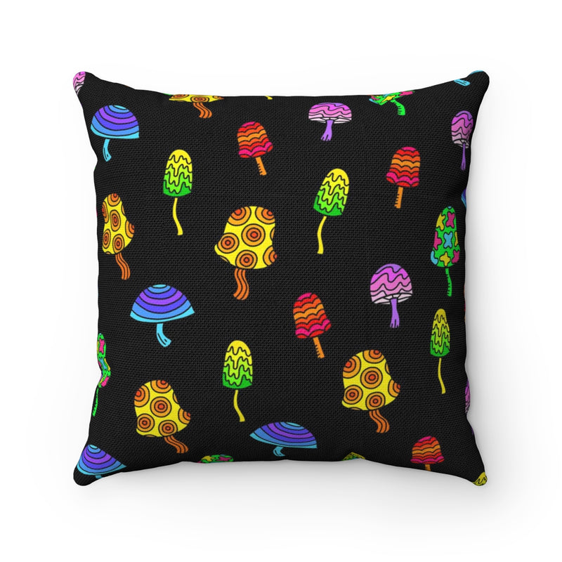 Shrooms Square Pillow