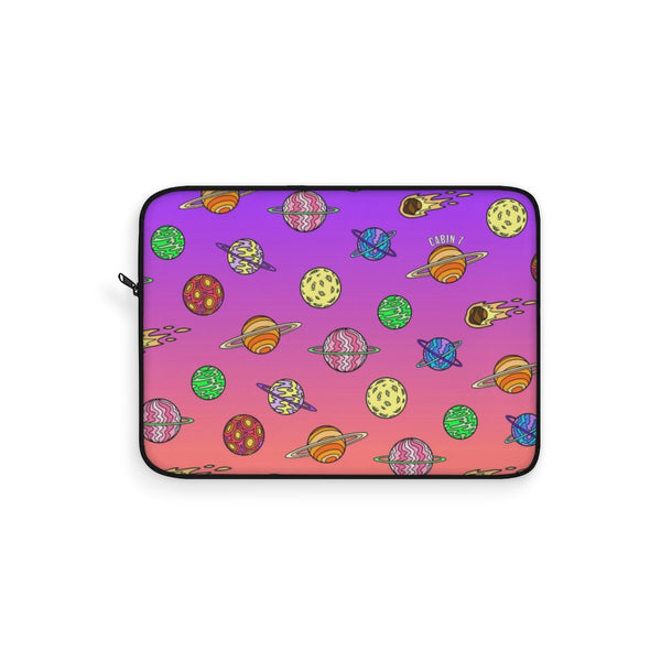 Neon Planets Laptop Sleeve