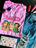 Baked Babes Tie-Dye T-Shirt