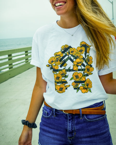 Golden Poppies Logo T-Shirt