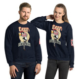 NEAL WOLLENBERG COLLABORATION BEER ART IT'S TIME FOR ANOTHER Unisex Sweatshirt