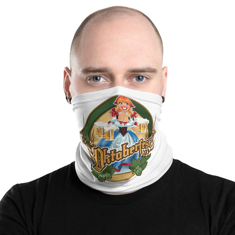 Neal Wollenberg COLLABORATION BEER ART Neck Gaiter