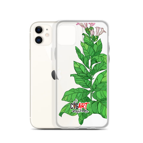 Cigar Art (CIGART) TOBACCO PLANT iPhone Case