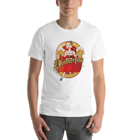 Neal Wollenberg COLLABORATION BEER ART OCTOBER FEST 2 Short-Sleeve Unisex T-Shirt