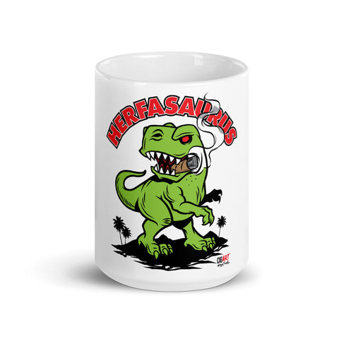 Cigar Art (CIGART) - Herfasaurus Coffee Mug
