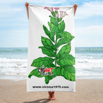 Cigar Art (CIGART) TOBACCO PLANT Towel