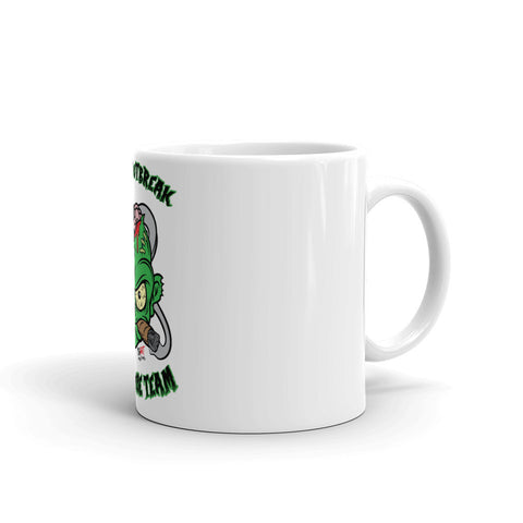 Cigar Art (CIGART) - Green Cigar Zombie Mug