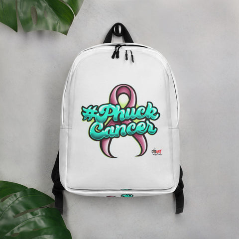 Phuck Cancer Minimalist Backpack