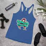 PHUCK CANCER Women's Racerback Tank