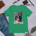 NEAL WOLLENBERG COLLABORATION BEER ART MISS MUERTE Short-Sleeve Unisex T-Shirt