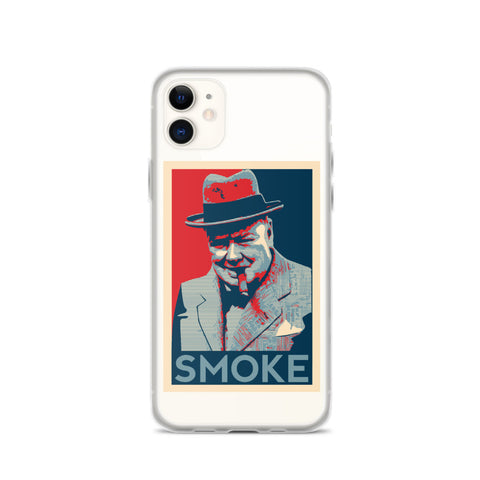 NEAL WOLLENBERG COLLABORATION BEER ART CHURCHILL iPhone Case