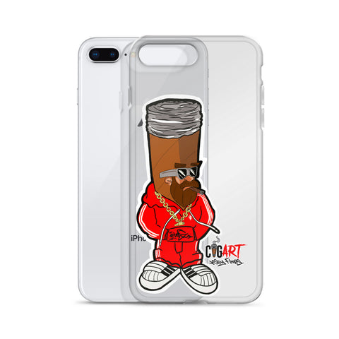 Cigar Art (CIGART) CIGAR DAVE iPhone Case