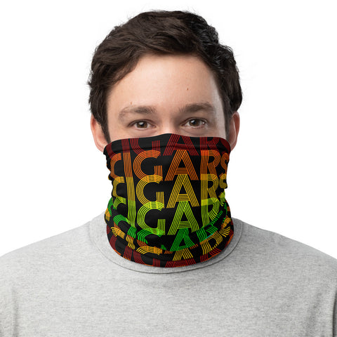 Victms 1975 Heritage - Retro Font Cigars Neck Gaiter