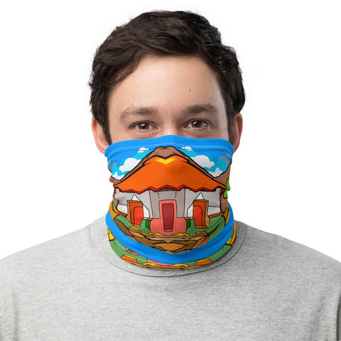 Victms 1975 Heritage - Nica Heritage Victms Cactus Logo Face Covering Neck Gaiter