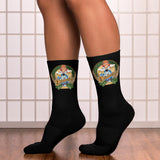 NEAL WOLLENBERG COLLABORATION BEER ART - OCTOBER FEST 1 Socks