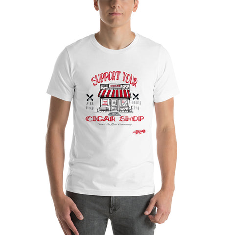 VICTMS 1975 Heritage Support Your Cigar Shop Tee