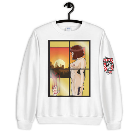 NEAL WOLLENBERG COLLABORATION BEER ART - Unisex Sweatshirt