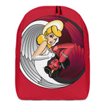 NEAL WOLLENBERG COLLABORATION BEER ART - LOVE/SIN RED Minimalist Backpack