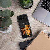Victms 1975 Heritage - Orange Logo Samsung S10, S10+, S10e Phone Case