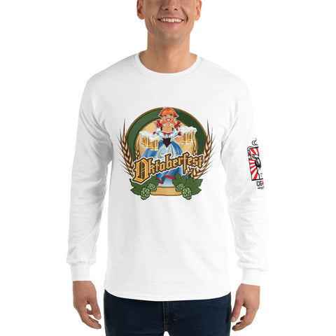 Neal Wollenberg COLLABORATION BEER ART - OCTOBER FEST 1 Men's Long Sleeve Shirt